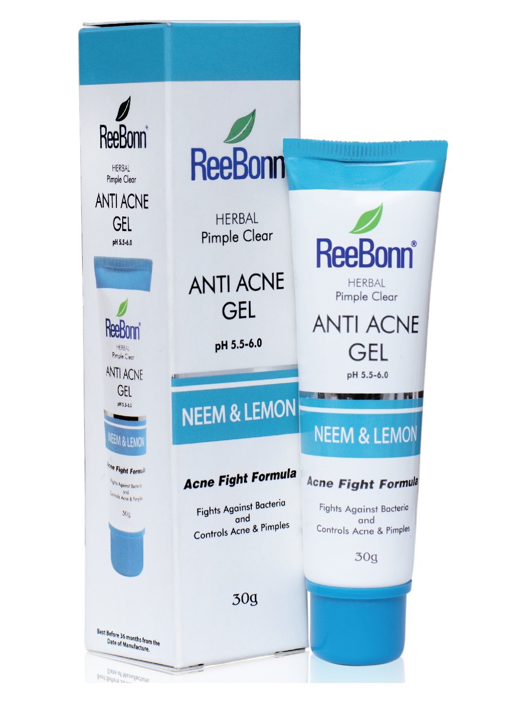 Pimple Clear Anti Acne Gel Reebonn Cosmetics Sri Lanka